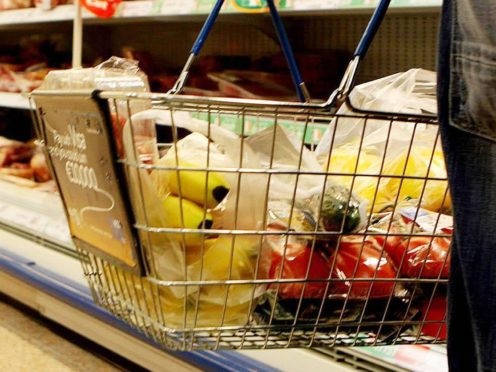 As many as 600,000 working people could struggle to afford to buy food and other basic necessities after the £20 benefit cut, according to new research (Julien Behal/PA)