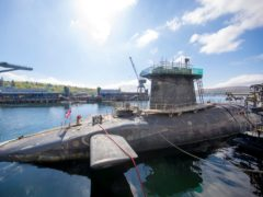 The nuclear weapons system is based at Faslane naval base (James Glossop/PA)