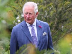 The Prince of Wales during a visit to National Botanic Gardens, Kilmacurragh, in Ireland (Chris Jackson/PA)