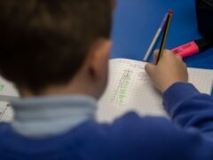 Sats tests take place in Year 6 in England when pupils are aged 10 and 11 (Danny Lawson/PA)