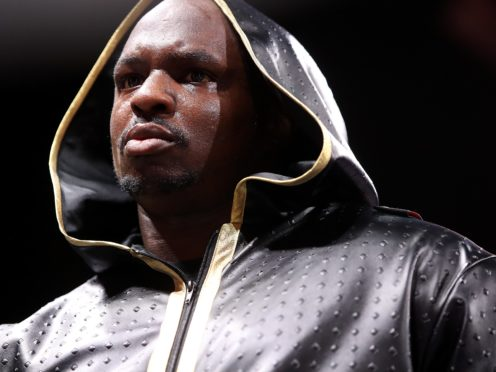 Dillian Whyte returns to the ring next month (Nick Potts/PA)