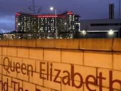 The inquiry is looking into failings at the Queen Elizabeth University Hospital in Glasgow (Andrew Milligan/PA)