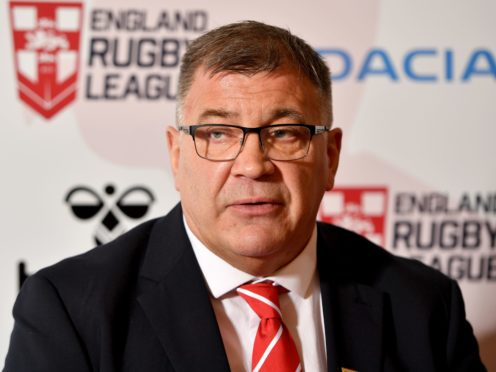 Head coach Shaun Wane is hoping the World Cup postponement will work in England's favour (Anthony Devlin/PA)
