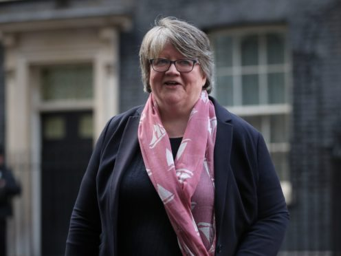 Work and Pensions Secretary Therese Coffey has admitted not being aware of a Government report warning that the rise in National Insurance could increase the likelihood of family breakdown (Aaron Chown/PA)