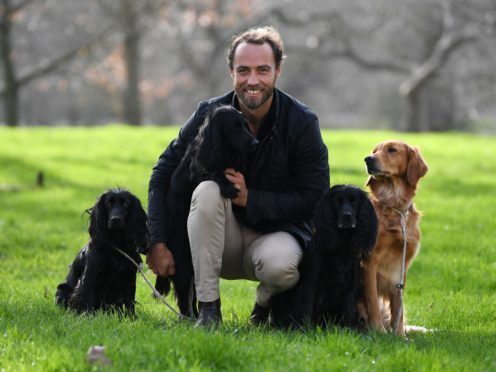 James Middleton (Kirsty O'Connor/PA)