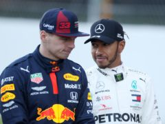 Lewis Hamilton and Max Verstappen are battling for the F1 title (David Davies/PA)