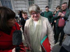 Work and Pensions Secretary Therese Coffey (Jonathan Brady/PA)