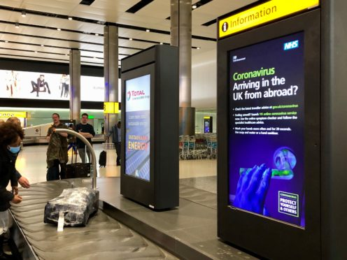 Which? has warned that airlines are giving out incorrect information on Covid testing requirements that could see passengers turned away from flights and ineligible for refunds (Bradley Collyer/PA)