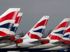 Airlines are experiencing a surge in demand for trips to the US after the White House confirmed it will scrap its ban on fully vaccinated UK travellers in November (Steve Parsons/PA)