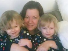 Kelly Fitzgibbons, four-year-old Ava Needham and two-year-old Lexi Needham were found dead at a house in Woodmancote, near Chichester in West Sussex (Handout/PA)