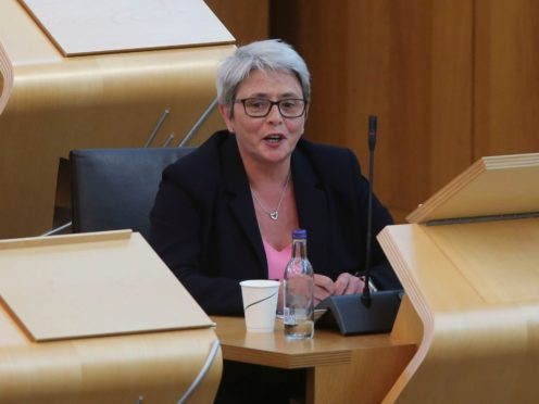 Annie Wells has resigned from the Scottish Conservative frontbench (Fraser Bremner/Scottish Daily Mail/PA)