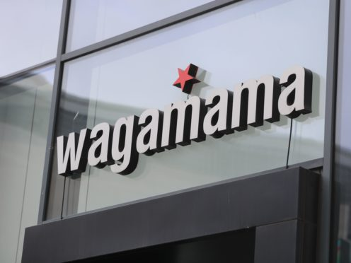 Pan-Asian chain Wagamama has revealed difficulty in hiring chefs across a fifth of its restaurants (Mike Egerton/PA)