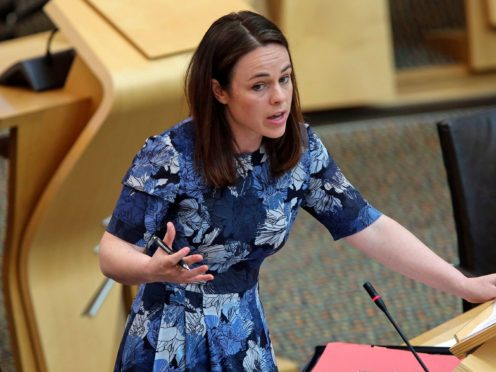 Finance Secretary Kate Forbes told a Westminster committee that the Scottish Government had been 'cut out' of talks about travel infrastructure investment (Fraser Bremner/Scottish Daily Mail/PA)
