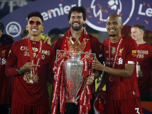 Roberto Firmino, Alisson and Fabinho are Brazil internationals (Phil Noble/PA)