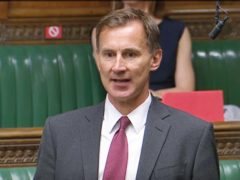 Former health secretary Jeremy Hunt has called on the UK to follow the example of Israel and begin offering coronavirus vaccine boosters to people other than the clinically vulnerable (House of Commons/PA)
