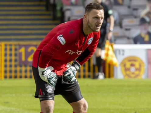 Trevor Carson is set to return to Dundee United's starting line-up (Jeff Holmes/PA)