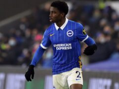 Tariq Lamptey is back in contention for Brighton (Gareth Fuller/PA)