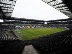 MK Dons head into Tuesday's clash with Fleetwood looking for a fourth successive victory (Zac Goodwin/PA)