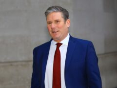 Labour Party leader Sir Keir Starmer (Aaron Chown/PA)