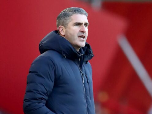 Ryan Lowe hopes to sustain Plymouth's strong start to the season (Tim Goode/PA)