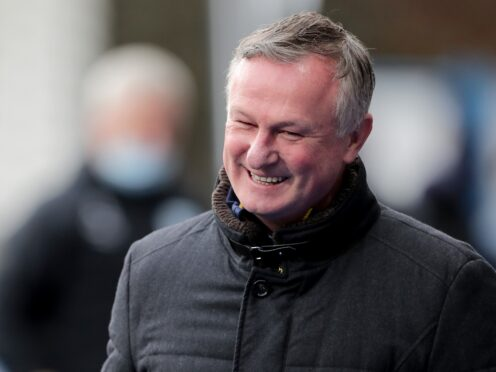 Michael O'Neill feels there's more to come from his side (PA)
