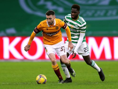 Motherwell's Stephen O'Donnell is back (Jane Barlow/PA)