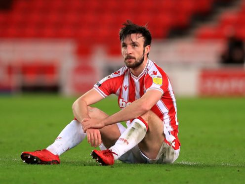 Morgan Fox suffered a hamstring injury in training on Monday and will miss Stoke's Championship clash with Barnsley (Mike Egerton/PA)