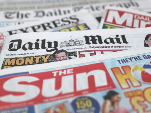 What the papers say – September 14 (PA)