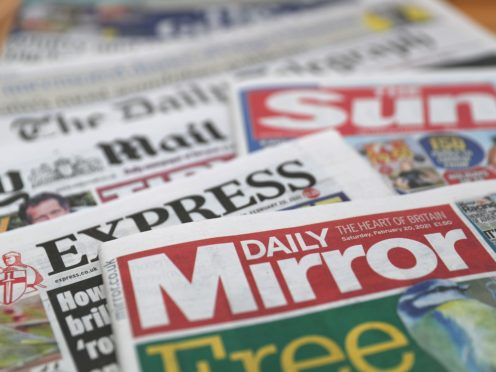 What the papers say – September 16 (PA)