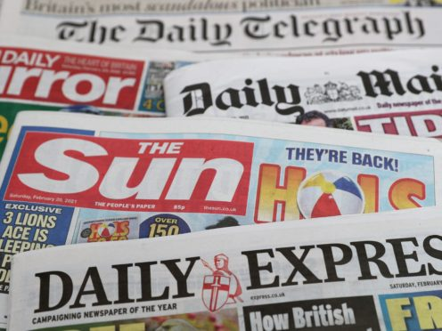 What the papers say – September 13 (PA)
