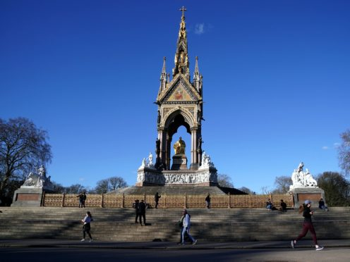 The Albert Memorial in Hyde Park, London. The Prince Albert Digitisation Project is now complete and contains more than 5,000 items