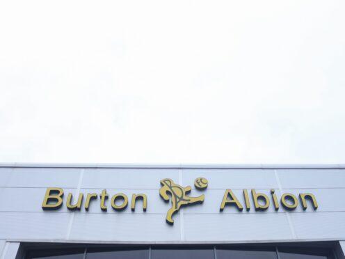 Burton host Portsmouth on Tuesday (Isaac Parkin/PA)