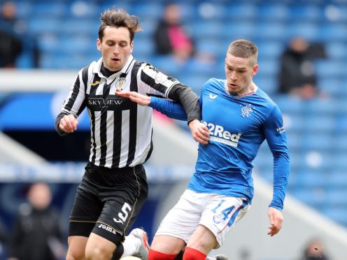 Conor McCarthy (left) is keeping his focus on St Mirren (Jane Barlow/PA)