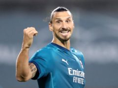 AC Milan's Zlatan Ibrahimovic will face Liverpool in Champions League action this week (Niall Carson/PA)