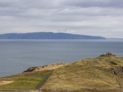 A view from Northern Ireland to Scotland (PA)