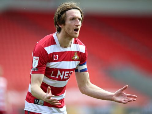 Doncaster skipper Tom Anderson has recovered from an ankle injury (Nigel French/PA)