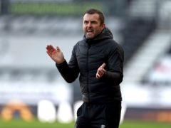 Luton manager Nathan liked what he saw from his team (Bradley Collyer/PA)