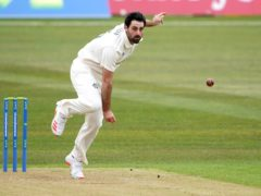 Brett Hutton took three wickets for title-chasing Nottinghamshire (Zac Goodwin/PA)