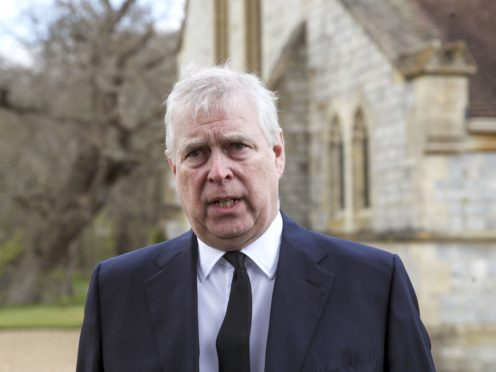 The Duke of York's legal team are understood to be contesting the court's decision (Steve Parsons/PA)