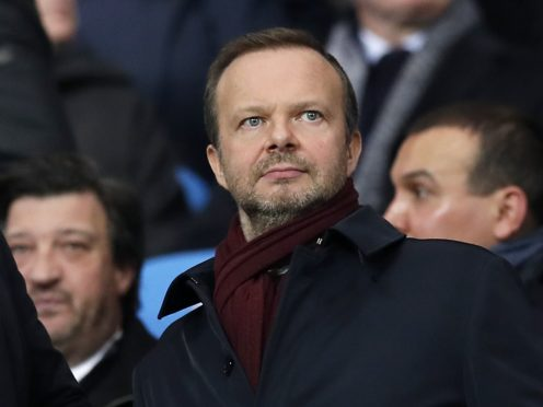 Ed Woodward believes Manchester United are on the 'right track' (Martin Rickett/PA)