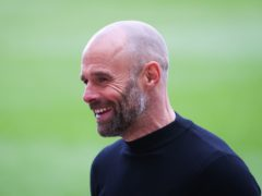 Rotherham manager Paul Warne saw his side win at Bolton (Issac Parkin/PA).