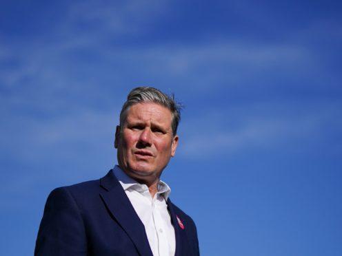 Labour leader Sir Keir Starmer (PA)