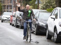 Scottish Greens co-leader Patrick Harvie wants more people to cycle (Jane Barlow/PA)