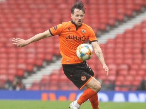 Marc McNulty will miss this weekend's trip to Celtic (Jeff Holmes/PA).