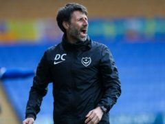 Portsmouth manager Danny Cowley took the blame for his side's defeat to Cambridge (Barrington Coombs/PA)