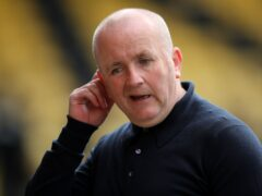 Livingston manager David Martindale is impressed by Hearts (Jane Barlow/PA)