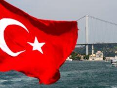 A bridge spans the Bosphorus Strait in Istanbul (Anthony Devlin/AP)
