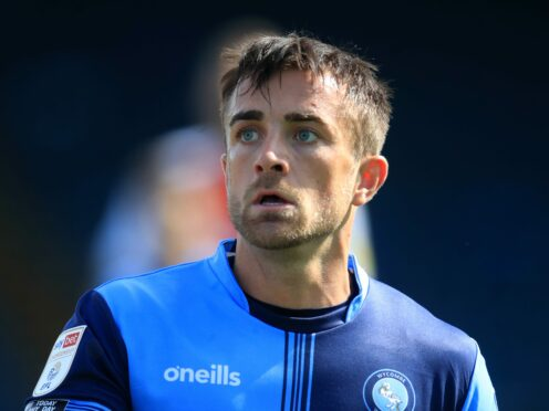 Alex Pattison could be back in action for Harrogate (Adam Davy/PA)