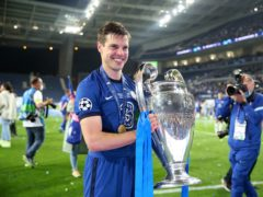 Cesar Azpilicueta, pictured, wants to stay longer at Chelsea and carve out more memorable moments like lifting the Champions League trophy (Nick Potts/PA)