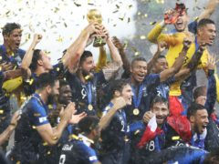 France were the most recent winners of the World Cup in 2018 but plans could see the tournament played every two years (Owen Humphreys/PA)